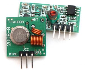 Electronic parts such as breakout boards for building