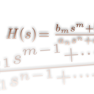 Transfer function Laplace icon